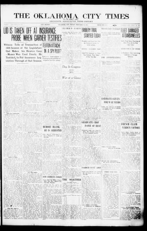 Primary view of object titled 'The Oklahoma  City Times And The Weekly Times (Oklahoma City, Okla.), Vol. 26, No. 33, Ed. 1 Friday, February 26, 1915'.