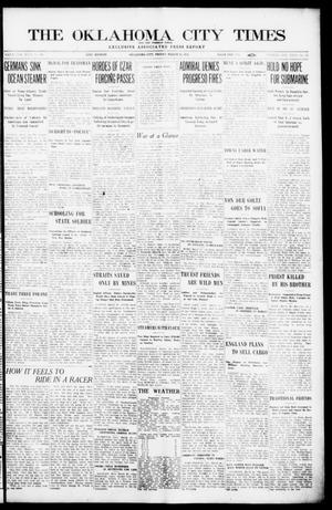 Primary view of object titled 'The Oklahoma  City Times And The Weekly Times (Oklahoma City, Okla.), Vol. 26, No. 37, Ed. 1 Friday, March 26, 1915'.