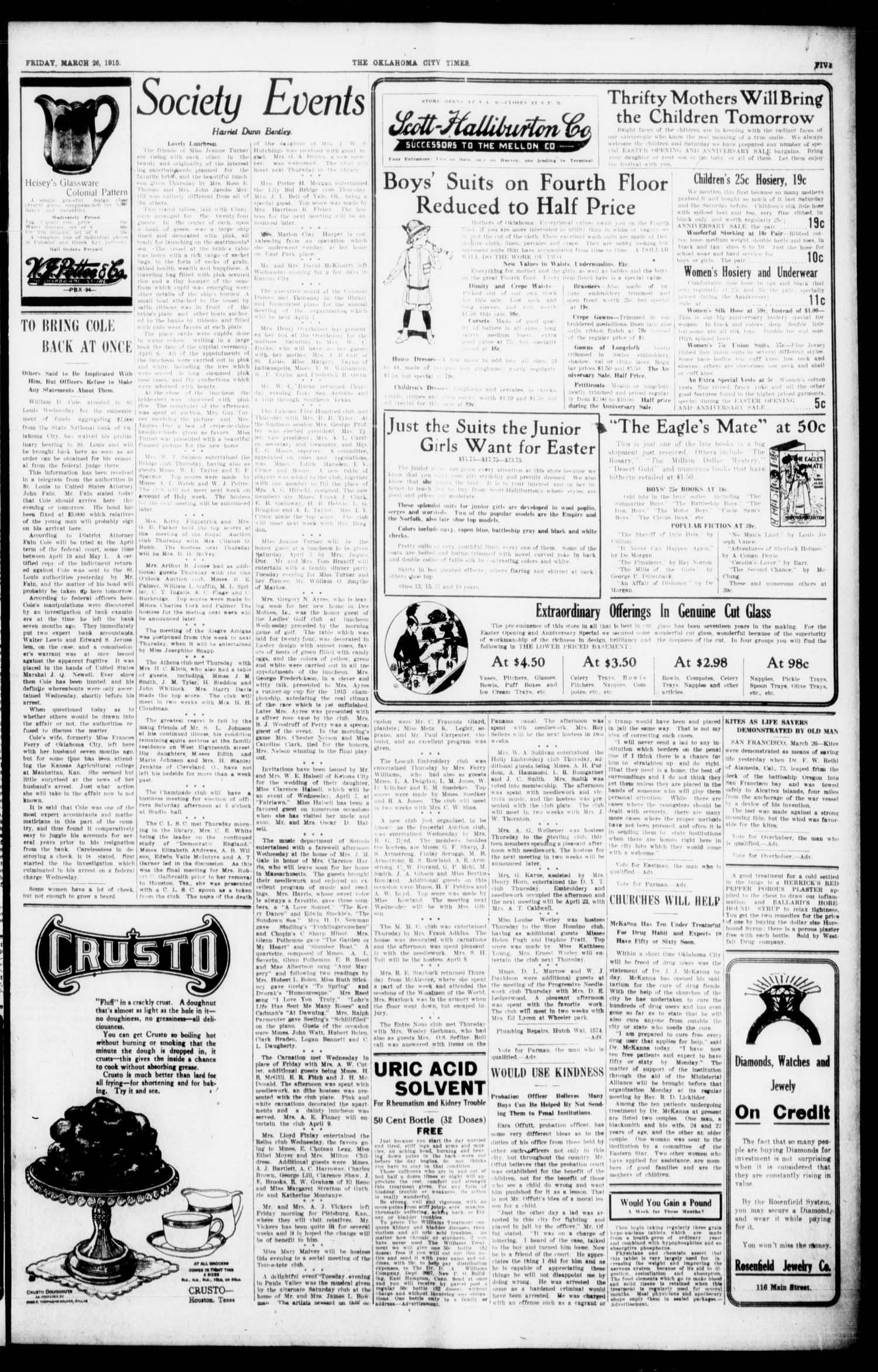 The Oklahoma City Times And The Weekly Times (Oklahoma City