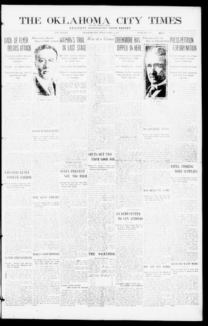 Primary view of object titled 'The Oklahoma  City Times And The Weekly Times (Oklahoma City, Okla.), Vol. 26, No. 38, Ed. 1 Friday, April 2, 1915'.