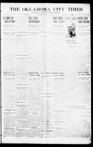 Primary view of object titled 'The Oklahoma  City Times And The Weekly Times (Oklahoma City, Okla.), Vol. 26, No. 40, Ed. 1 Friday, April 16, 1915'.