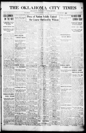 Primary view of object titled 'The Oklahoma  City Times And The Weekly Times (Oklahoma City, Okla.), Vol. 26, No. 44, Ed. 1 Friday, May 14, 1915'.