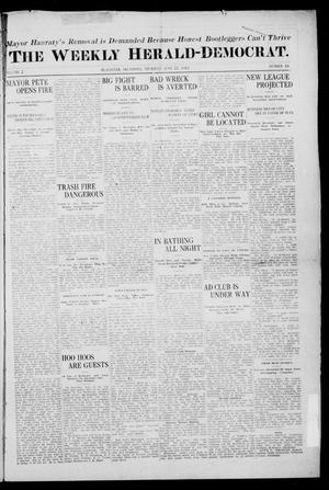 Primary view of object titled 'The Weekly Herald-Democrat. (McAlester, Okla.), Vol. 2, No. 18, Ed. 1 Thursday, June 22, 1911'.
