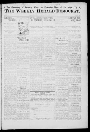 Primary view of object titled 'The Weekly Herald-Democrat. (McAlester, Okla.), Vol. 2, No. 24, Ed. 1 Thursday, August 3, 1911'.