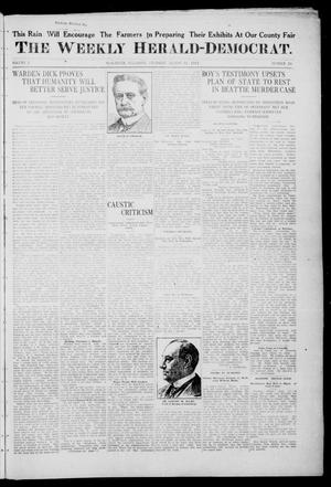 Primary view of object titled 'The Weekly Herald-Democrat. (McAlester, Okla.), Vol. 2, No. 28, Ed. 1 Thursday, August 31, 1911'.