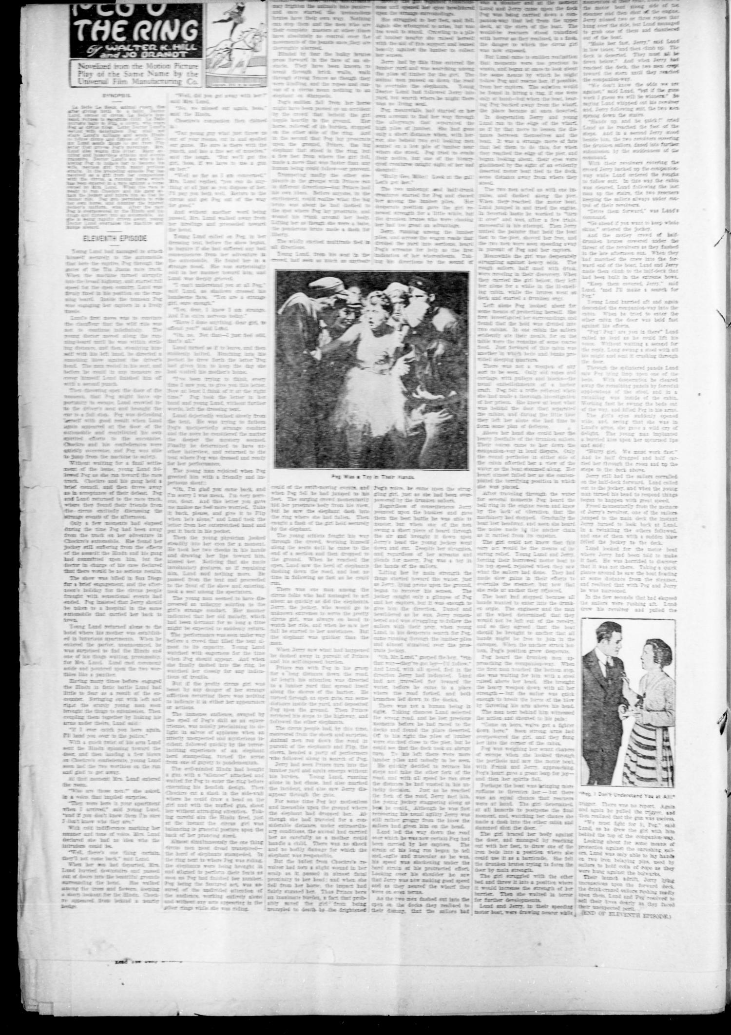 Drumright Evening Derrick (Drumright, Okla.), Vol. 2, No. 167, Ed. 1 Thursday, July 27, 1916                                                                                                      [Sequence #]: 2 of 8