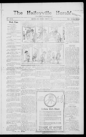 Primary view of object titled 'The Haileyville Herald. (Haileyville, Okla.), Vol. 1, No. 46, Ed. 1 Thursday, February 19, 1920'.