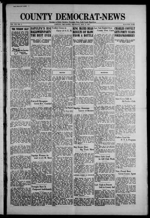Primary view of County Democrat-News (Sapulpa, Okla.), Vol. 18, No. 5, Ed. 1 Thursday, November 3, 1927