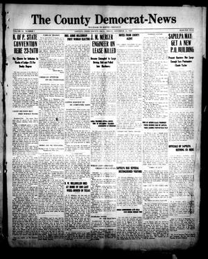 Primary view of object titled 'The County Democrat-News (Sapulpa, Okla.), Vol. 11, No. 7, Ed. 1 Friday, November 12, 1920'.