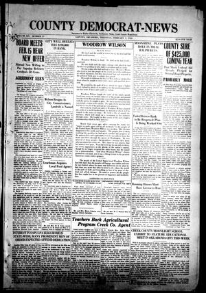 Primary view of County Democrat-News (Sapulpa, Okla.), Vol. 14, No. 20, Ed. 1 Thursday, February 7, 1924