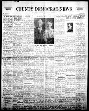 Primary view of object titled 'County Democrat-News (Sapulpa, Okla.), Vol. 19, No. 13, Ed. 1 Thursday, January 3, 1929'.