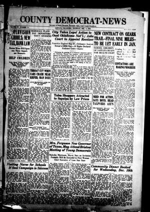 Primary view of County Democrat-News (Sapulpa, Okla.), Vol. 15, No. 11, Ed. 1 Thursday, December 4, 1924