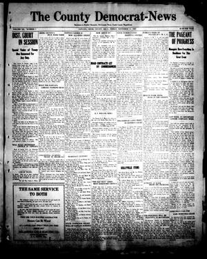 Primary view of object titled 'The County Democrat-News (Sapulpa, Okla.), Vol. 12, No. 7, Ed. 1 Friday, November 11, 1921'.
