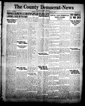 Primary view of object titled 'The County Democrat-News (Sapulpa, Okla.), Vol. 11, No. 20, Ed. 1 Friday, February 11, 1921'.