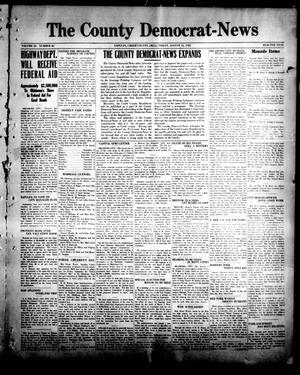 Primary view of object titled 'The County Democrat-News (Sapulpa, Okla.), Vol. 11, No. 46, Ed. 1 Friday, August 12, 1921'.
