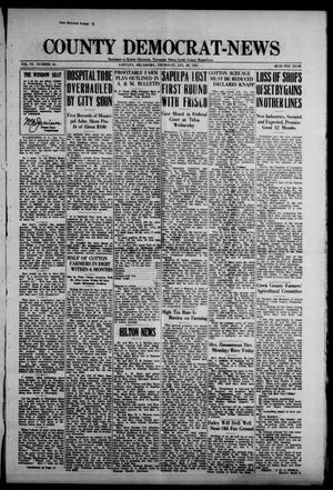 Primary view of object titled 'County Democrat-News (Sapulpa, Okla.), Vol. 17, No. 16, Ed. 1 Thursday, January 20, 1927'.