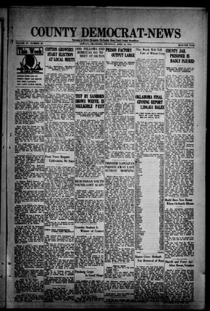 Primary view of object titled 'County Democrat-News (Sapulpa, Okla.), Vol. 15, No. 30, Ed. 1 Thursday, April 30, 1925'.