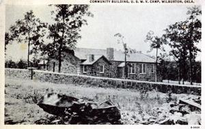 Primary view of object titled 'USWV Camp'.