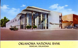 Primary view of object titled 'Oklahoma National Bank'.