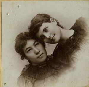 Primary view of object titled 'Cora Chisholm and Alice Hearrell'.