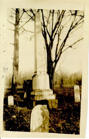 Primary view of Garland Cemetery