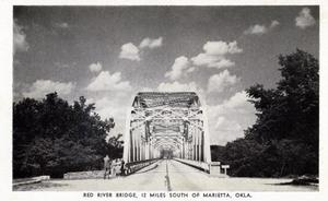 Primary view of object titled 'Red River Bridge'.