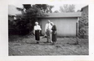 Primary view of object titled 'Mabel Tompkins, Bill, and Nell Walker'.