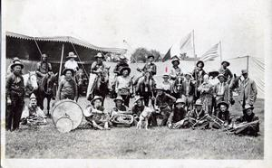 Primary view of object titled 'Tompkins Wild West Show Band'.