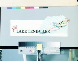 "Primary view of object titled '""Ski Lake Tenkiller"" Billboard'."