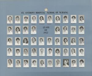 Primary view of object titled 'St. Anthony School of Nursing Class of 1977'.