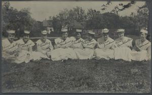 Primary view of object titled 'St. Anthony School of Nursing Class of 1919'.