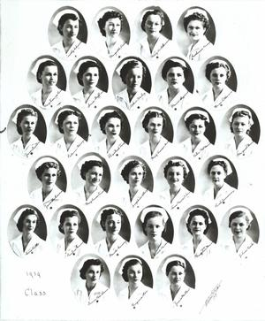 Primary view of object titled 'St. Anthony School of Nursing Class of 1939'.