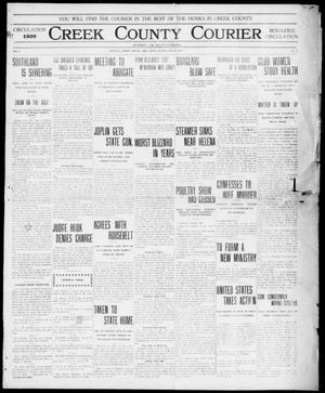 Primary view of object titled 'Creek County Courier (Sapulpa, Okla.), Vol. 7, No. 18, Ed. 1 Sunday, January 14, 1912'.