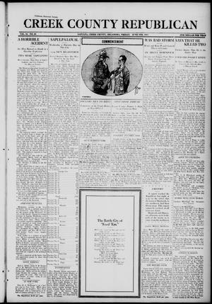 Primary view of Creek County Republican (Sapulpa, Okla.), Vol. 10, No. 49, Ed. 1 Friday, June 8, 1917