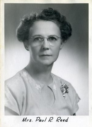 Primary view of Mrs. Paul R. Reed