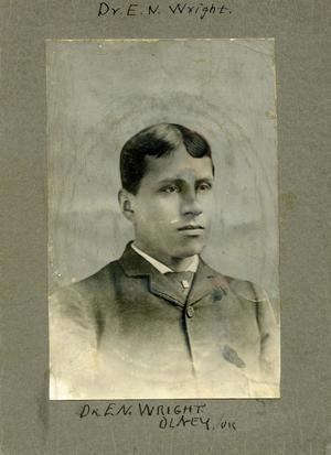 Primary view of Dr. E.N. Wright