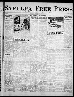 Primary view of Sapulpa Free Press (Sapulpa, Okla.), Vol. 3, No. 44, Ed. 1 Friday, December 28, 1934