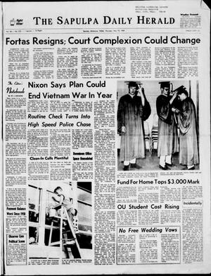 Primary view of The Sapulpa Daily Herald (Sapulpa, Okla.), Vol. 54, No. 220, Ed. 1 Thursday, May 15, 1969