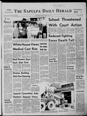 Primary view of The Sapulpa Daily Herald (Sapulpa, Okla.), Vol. 54, No. 266, Ed. 1 Wednesday, July 9, 1969