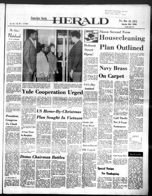 Primary view of Sapulpa Daily Herald (Sapulpa, Okla.), Vol. 59, No. 50, Ed. 1 Friday, November 10, 1972