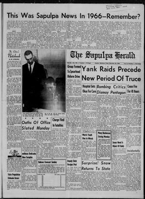 Primary view of The Sapulpa Herald (Sapulpa, Okla.), Vol. 52, No. 100, Ed. 1 Friday, December 30, 1966