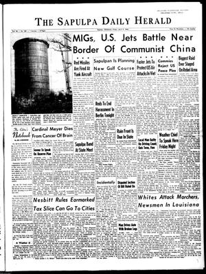 Primary view of The Sapulpa Daily Herald (Sapulpa, Okla.), Vol. 50, No. 189, Ed. 1 Friday, April 9, 1965