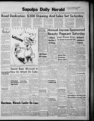Primary view of Sapulpa Daily Herald (Sapulpa, Okla.), Vol. 48, No. 192, Ed. 1 Friday, April 26, 1963