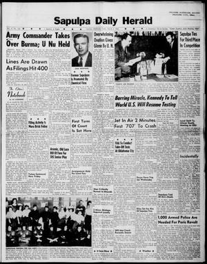 Primary view of Sapulpa Daily Herald (Sapulpa, Okla.), Vol. 47, No. 146, Ed. 1 Friday, March 2, 1962