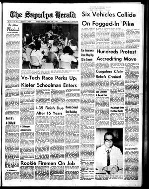 Primary view of The Sapulpa Herald (Sapulpa, Okla.), Vol. 52, No. 261, Ed. 1 Friday, July 7, 1967