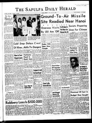 Primary view of The Sapulpa Daily Herald (Sapulpa, Okla.), Vol. 50, No. 195, Ed. 1 Friday, April 16, 1965