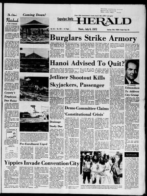 Primary view of Sapulpa Daily Herald (Sapulpa, Okla.), Vol. 58, No. 265, Ed. 1 Thursday, July 6, 1972