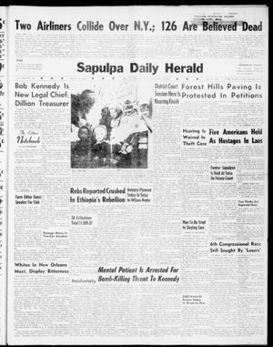 Primary view of object titled 'Sapulpa Daily Herald (Sapulpa, Okla.), Vol. 46, No. 80, Ed. 1 Friday, December 16, 1960'.