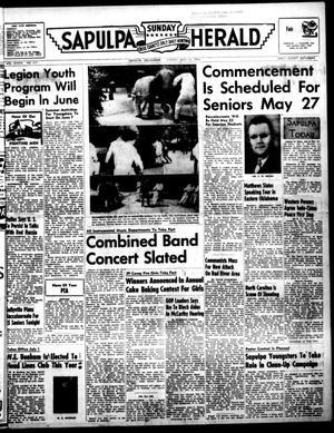 Primary view of Sapulpa Sunday Herald (Sapulpa, Okla.), Vol. 39, No. 217, Ed. 1 Sunday, May 16, 1954