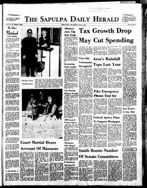 Primary view of The Sapulpa Daily Herald (Sapulpa, Okla.), Vol. 57, No. 78, Ed. 1 Wednesday, December 2, 1970